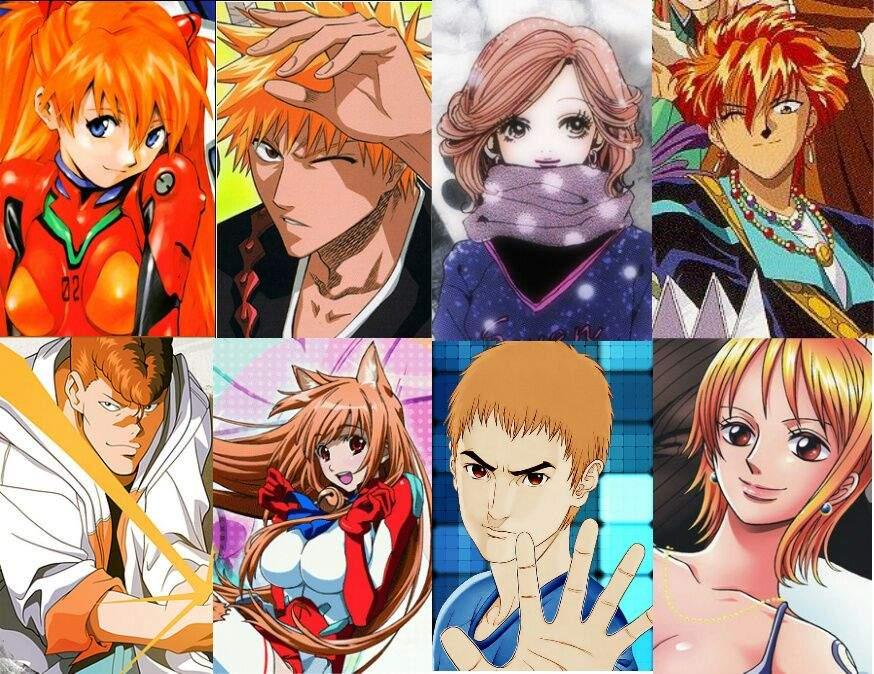 Anime Characters Orange Hair : Your anime hair colour🌟 amino