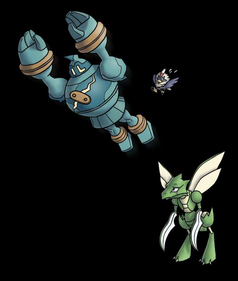 Sword Dance from Scyther to Marowak. - Pokemon Gold ...