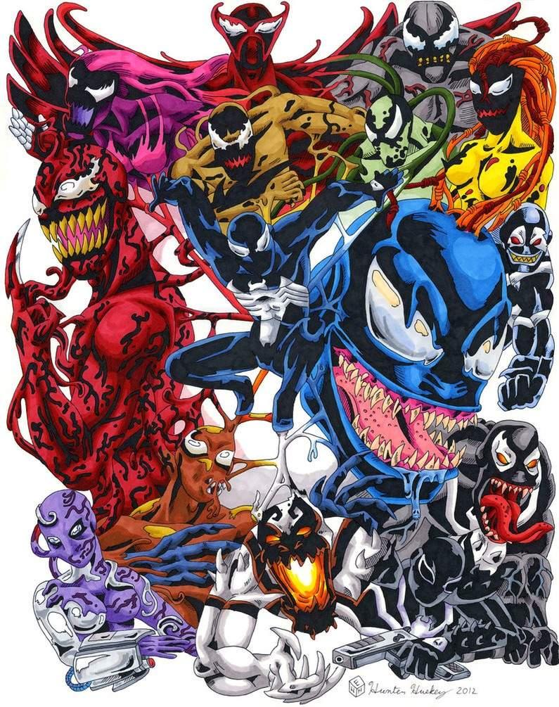 The Symbiote(Venom) Family Tree | Comics Amino
