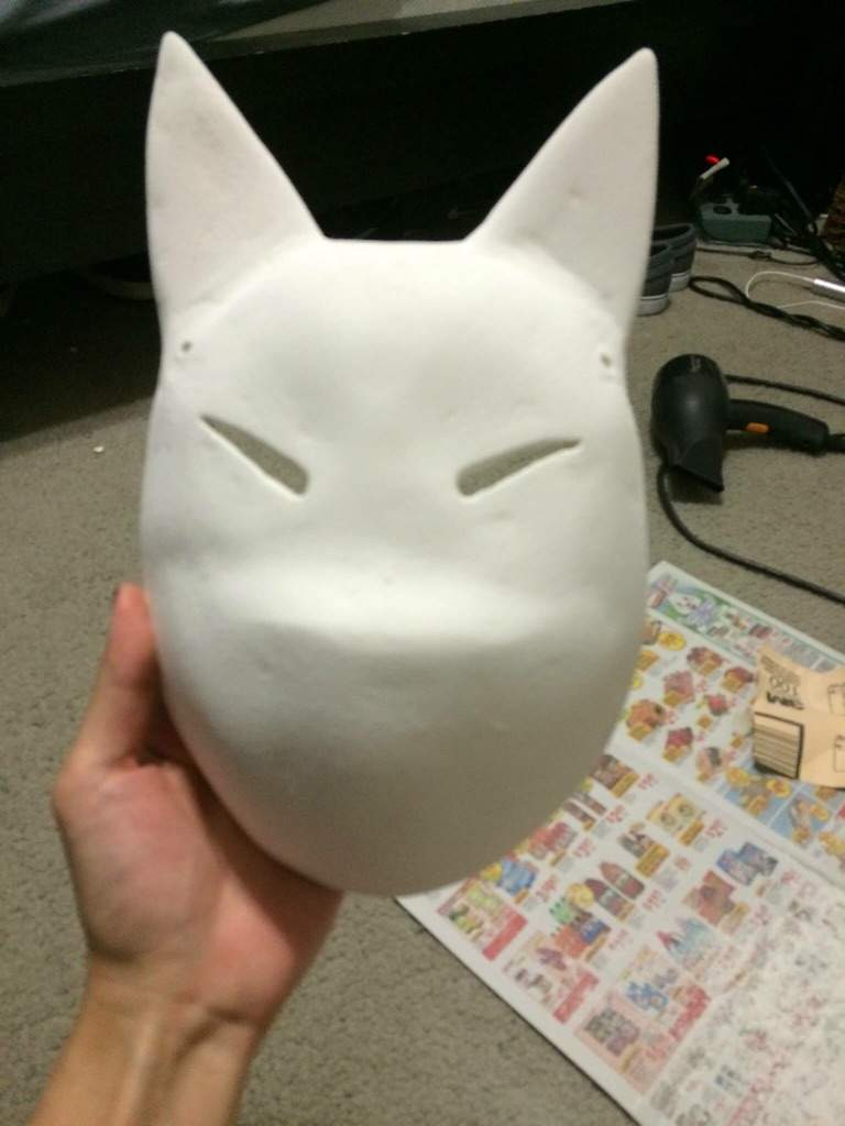 How To Make A Kitsune Mask Cosplay Amino