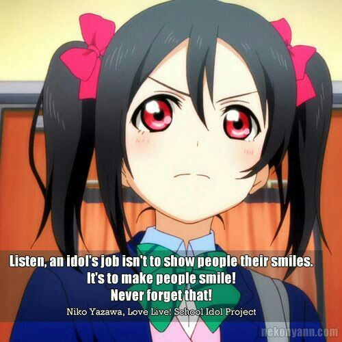 lovelive quotes anime amino