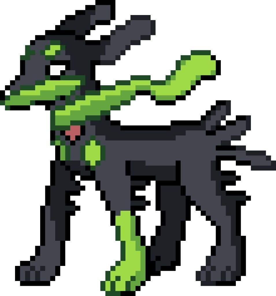 Zygarde 10% Form Sprite! | Pokémon Amino