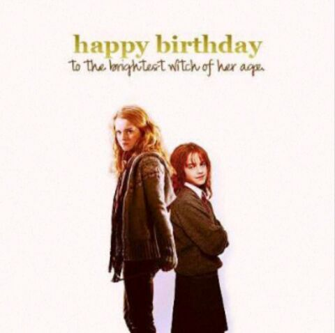 Happy birthday hermione granger harry potter amino - Ron weasley and hermione granger kids ...