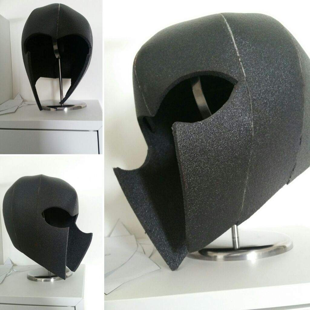 lining a foam helmet with fabric cosplay amino. Black Bedroom Furniture Sets. Home Design Ideas