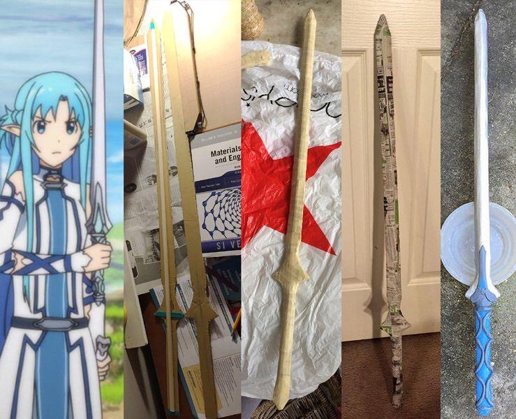 Paper Mache Sword Tutorial   Cosplay Amino