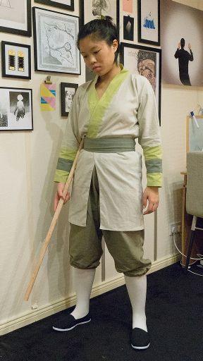 Mulan Ping Training Uniform Cosplay Amino