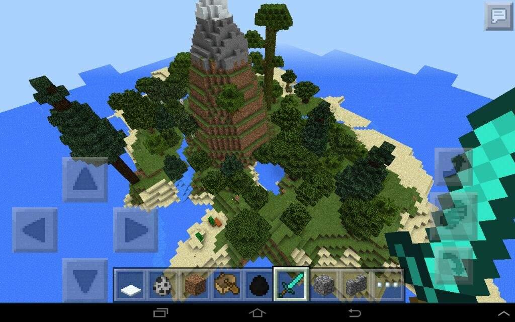 Как сделать свой остров в minecraft 586