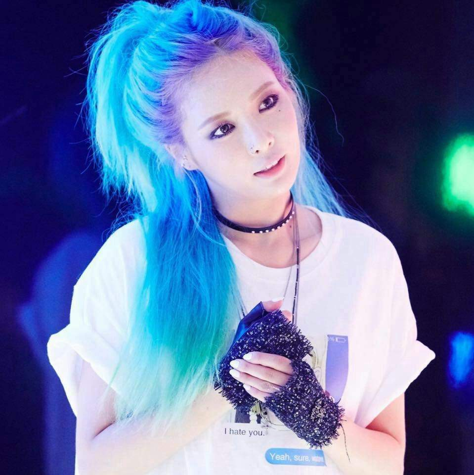 Korean hair color