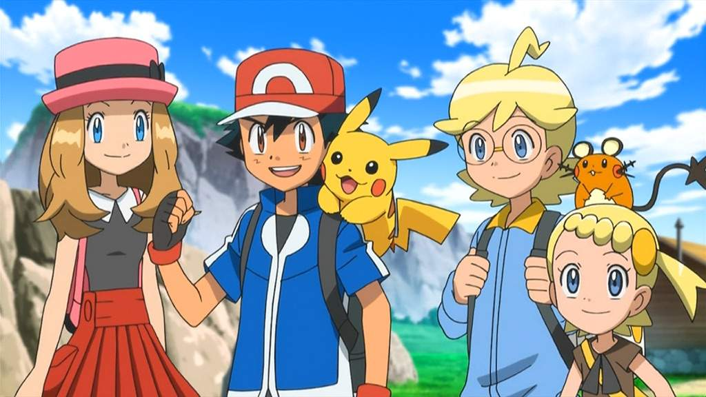 Anime Characters As Pokemon : Who is your favorite pok�mon xy anime character