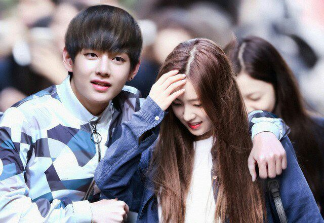 BTS V And Irene As A Couple K Pop Amino