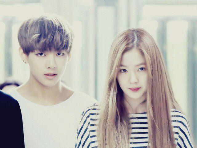 Taehyung and irene dating