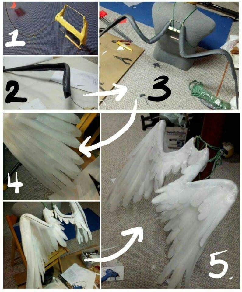 cosplay wings tutorial