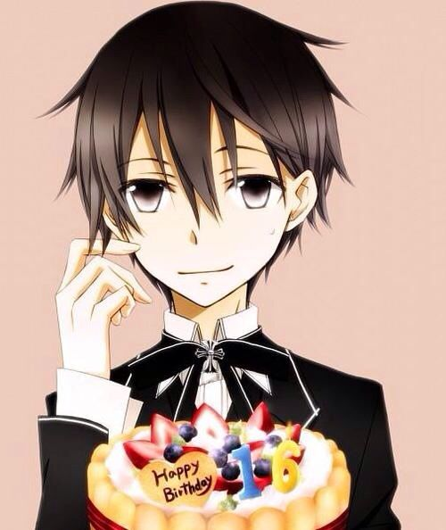 HAPPY BIRTHDAY KIRITO (KAZUTO)🎉🎉 | Anime Amino