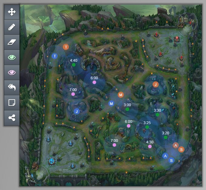interactive map of summoner s rift league of legends official