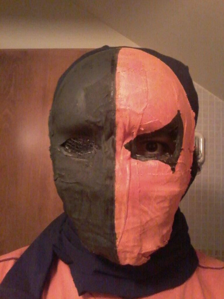 Homemade deathstroke mask | Comics Amino