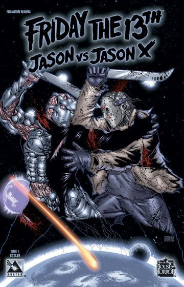 usally suck but the chaos comics halloween and and the kason v jason x series were classics espically since it really had nothing to do with the movies - Halloween Chaos Comics
