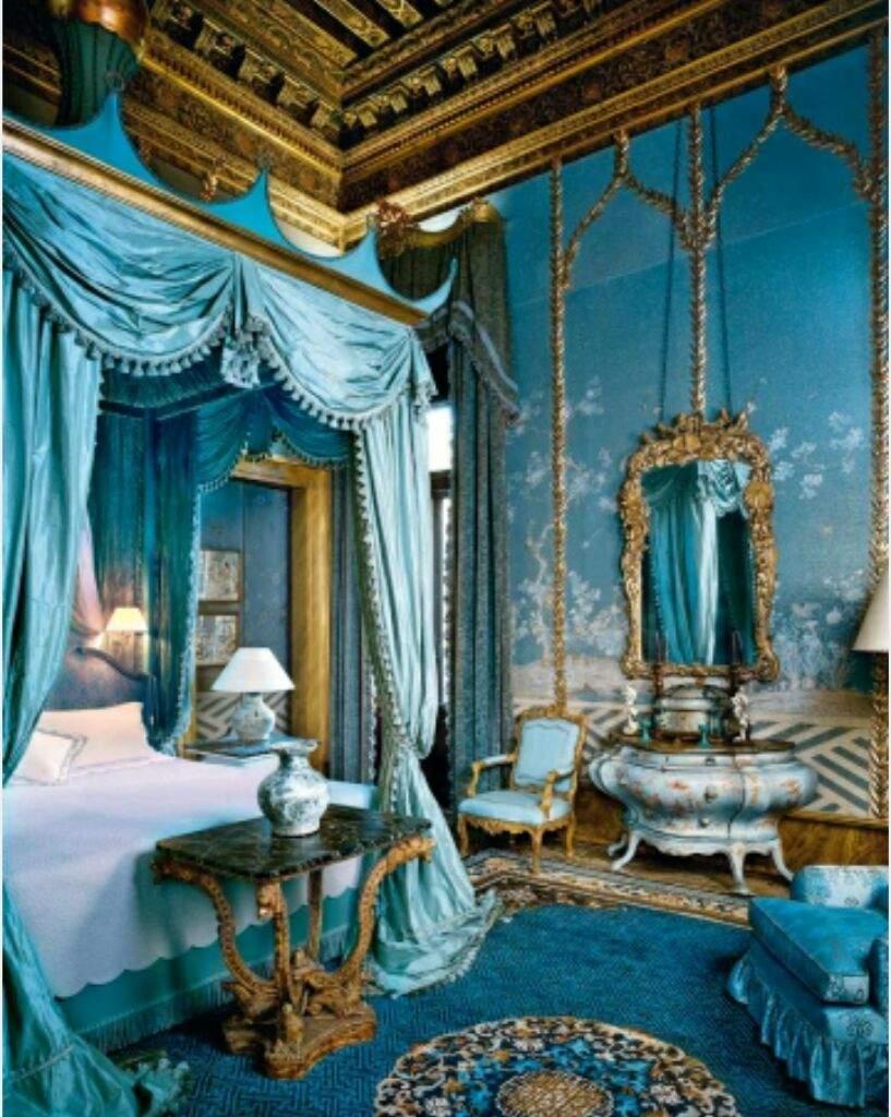 Royal Bedroom Background