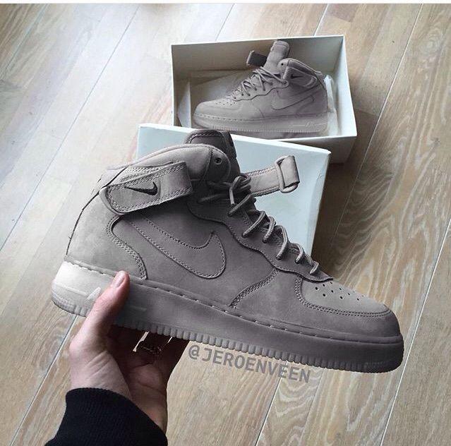 nike air force 1 mid ash grey