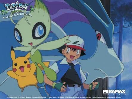 Pokemon 4ever Celebi Voice Of The Forest Wiki Pokemon Amino