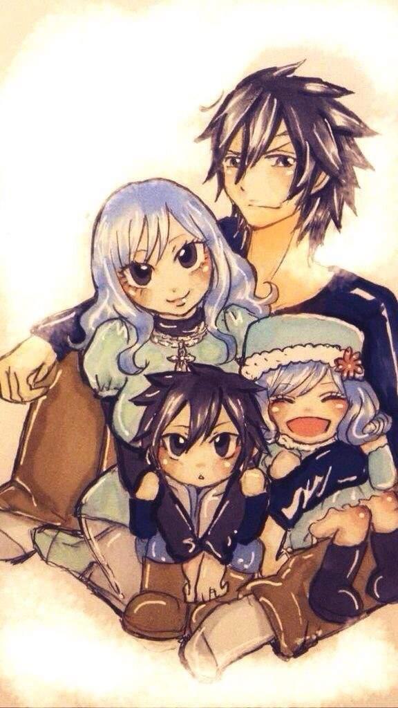 gruvia familythe fullbuster anime amino