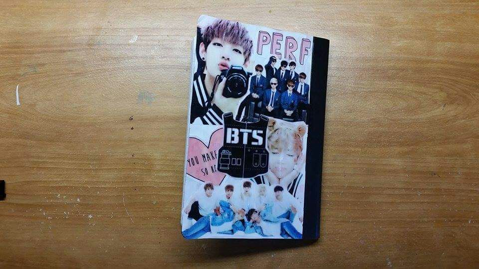 Diy Kpop Book Cover : Diy kpop notebook k pop amino