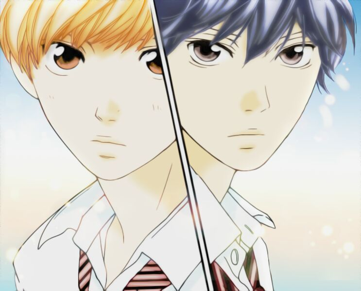 Ao Haru Ride: Kou vs. Touma | Anime Amino