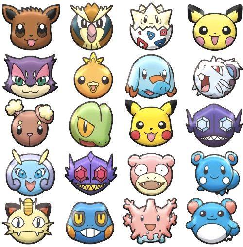 Pokemon Shuffle Characters Images