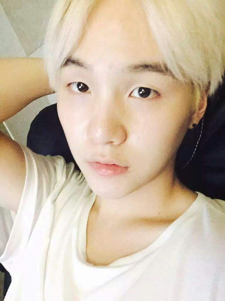 Suga New Hair Color K Pop Amino