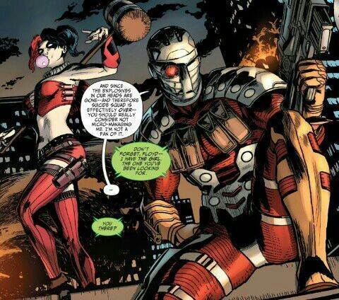deadshot and harley relationship test