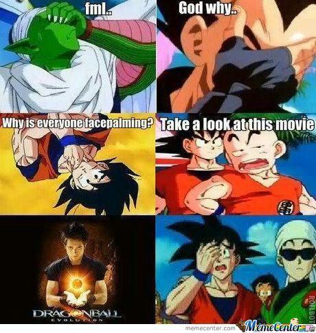 Dragon Ball Z Speed Hookup Meme