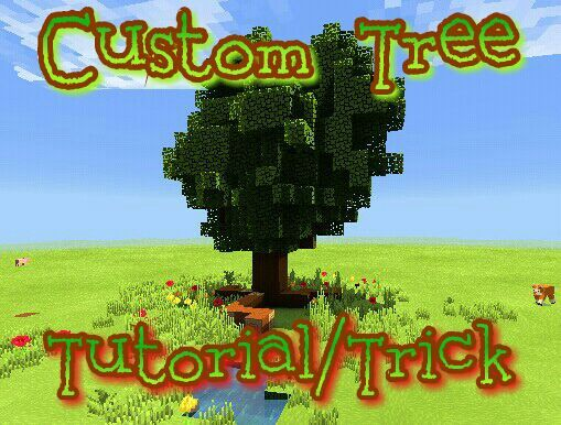 how to make a giant tree in minecraft