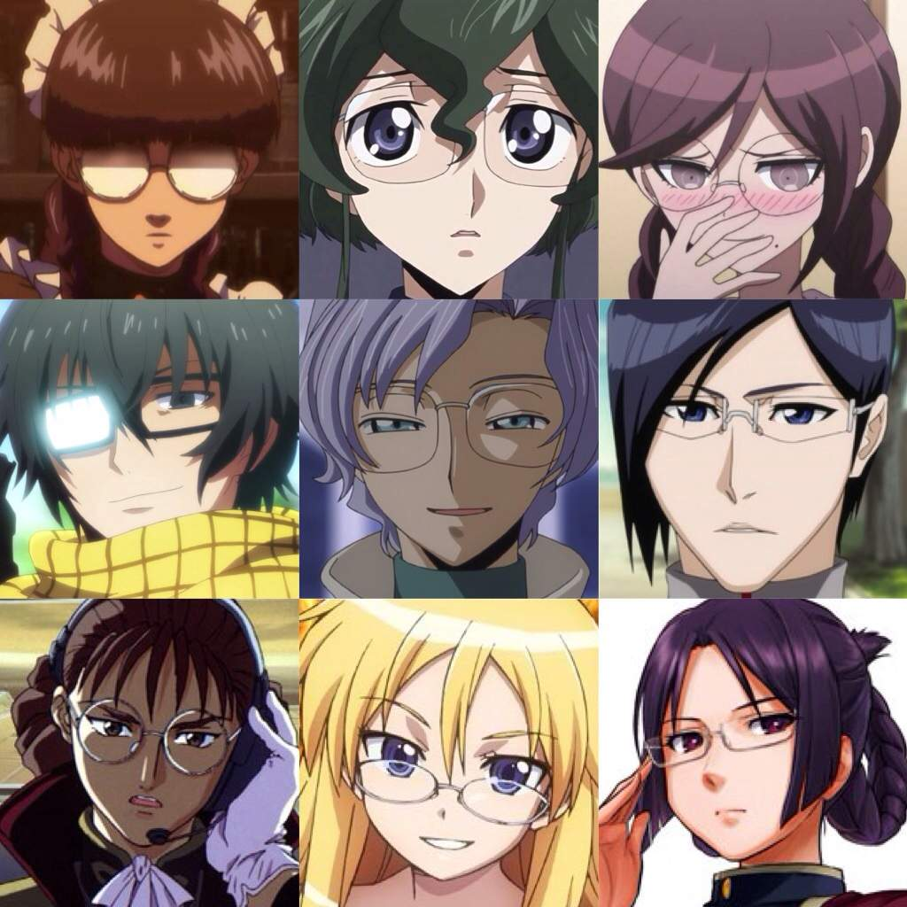 Anime Characters Glasses : Anime characters with glasses amino
