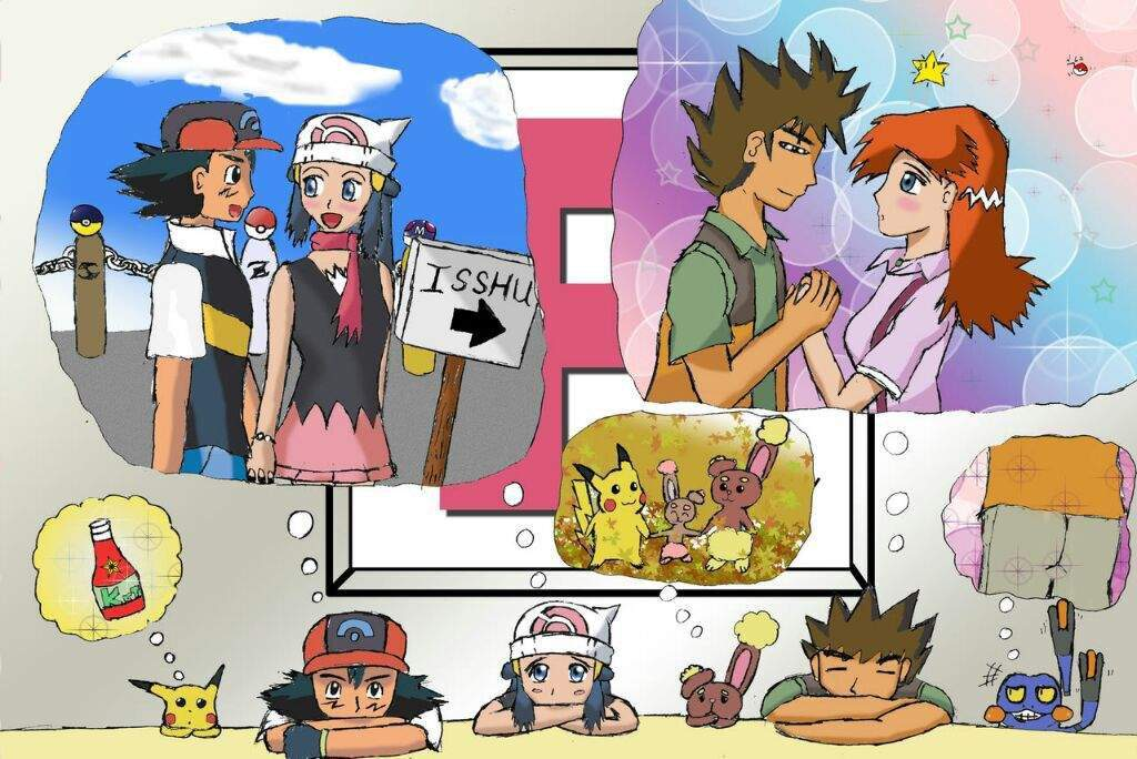 Pokemon paul and dawn fanfiction images pokemon images