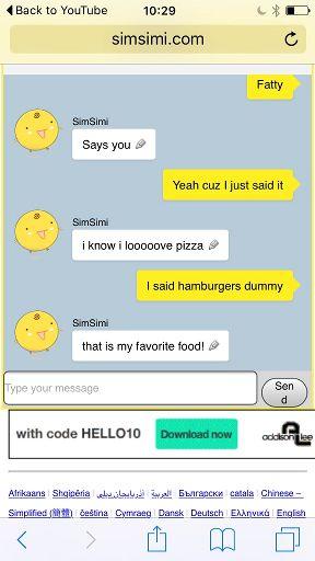 chat in deutsch
