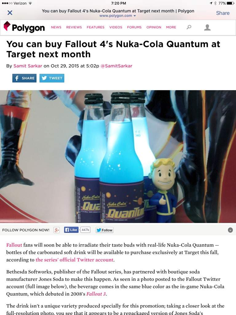 Fallout IV Nuka~Cola for sale | Video Games Amino