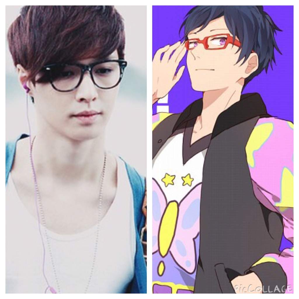 Kpop idols and theyre anime look alikes | K-Pop Amino
