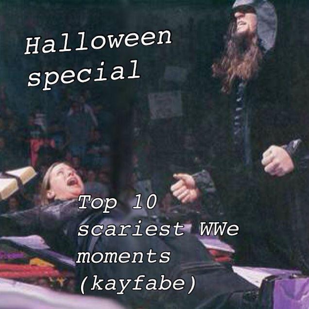 Halloween Special Top 10 Scariest Spookiest Kayfabe Wwe