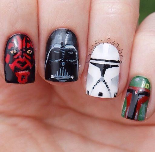 Star Wars Nail Art Wiki Star Wars Amino