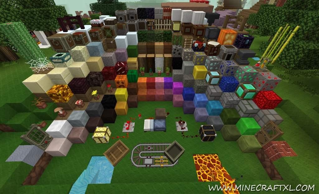 Faithful - скачать текстуры 64x64 и 32x32 для Minecraft 1 ...