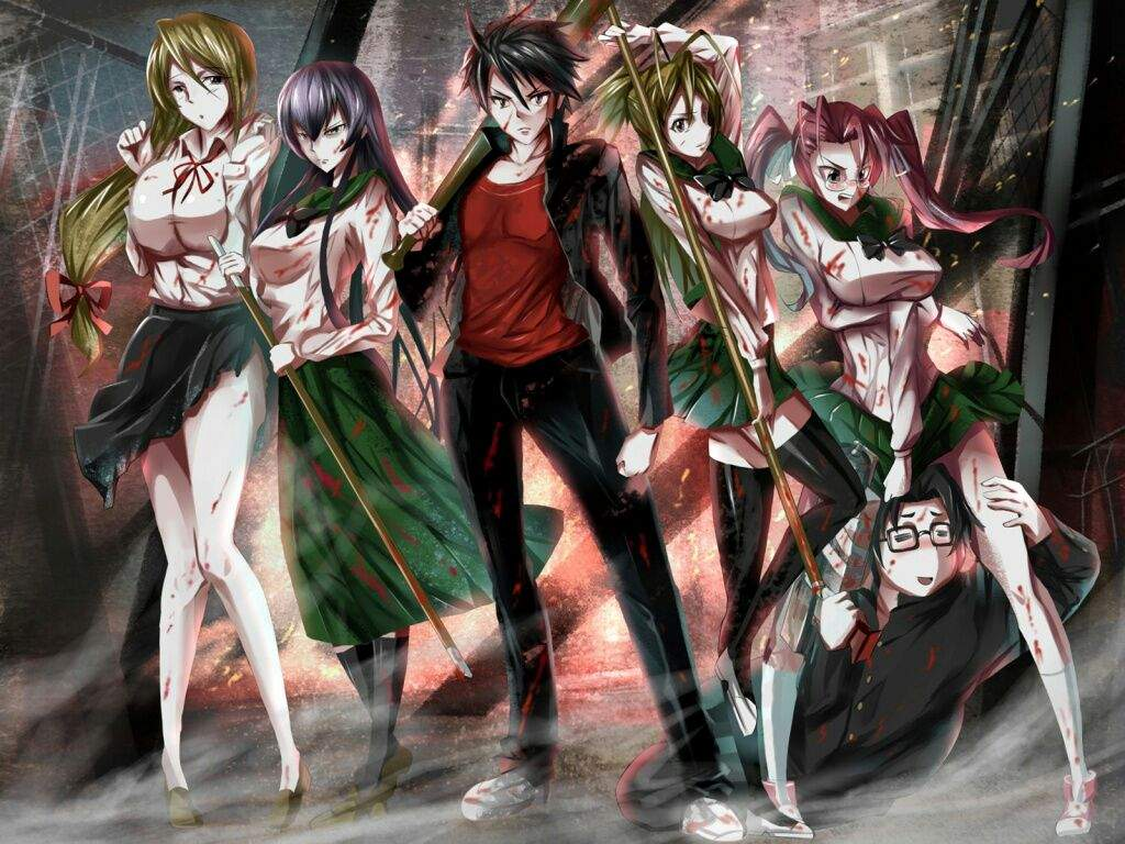 Porn gallery for highschool of the dead anime dubbed and also