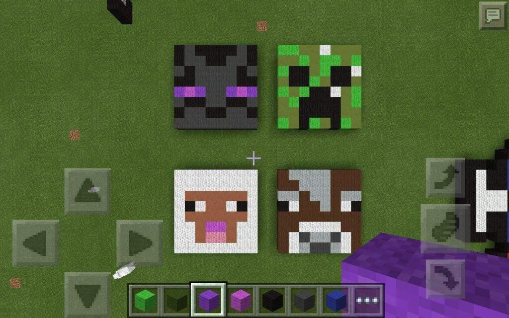 pics for gt enderman head pixel art