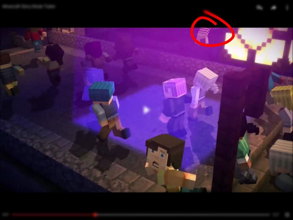 Minecraft Story Mode trailer mistakes?/Easter eggs | Minecraft Amino