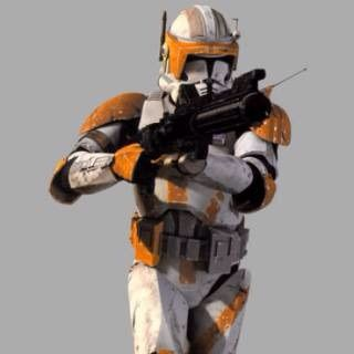 Papercraft Star Wars: Battlefront II Clone Commander Cody