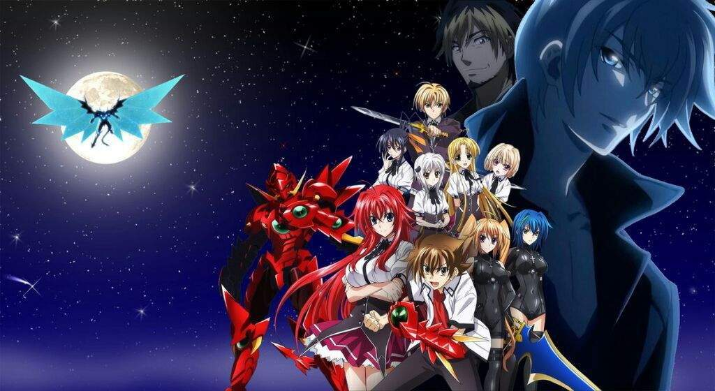 High School DxD New Streaming ITA/SUB ITA ~ AnimeLove