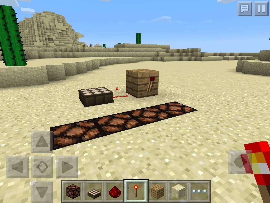 minecraft how to use daylight sensor