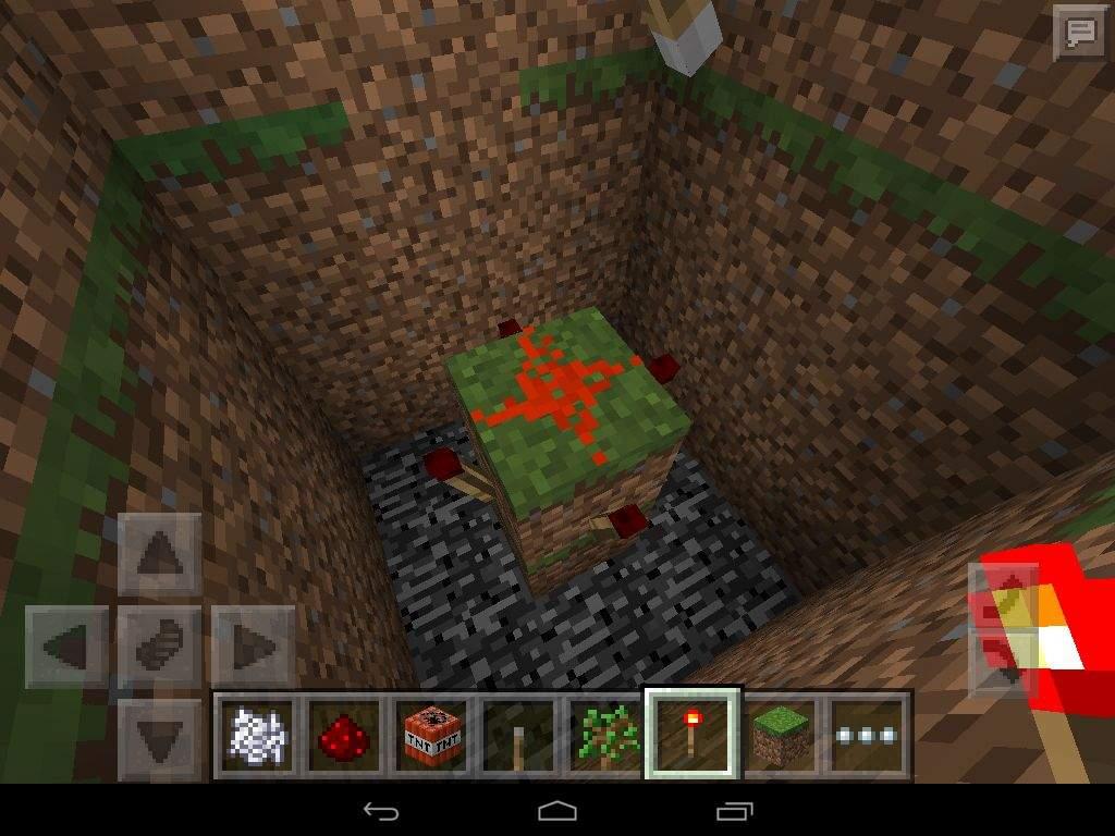 how to make redstone go down