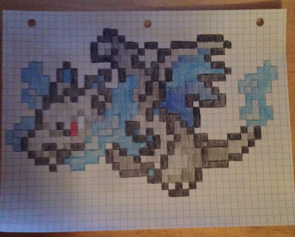 Pixel Art Dracaufeu Shiney