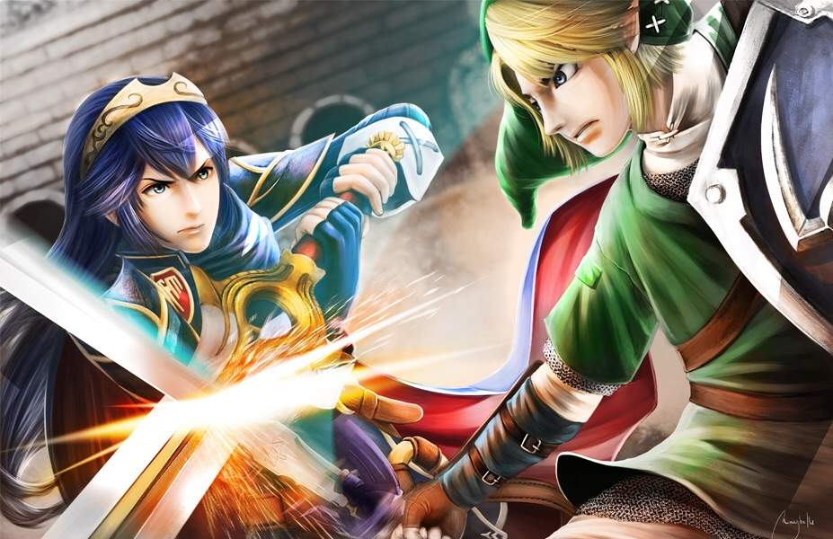 Link x Lucina | Video Games Amino