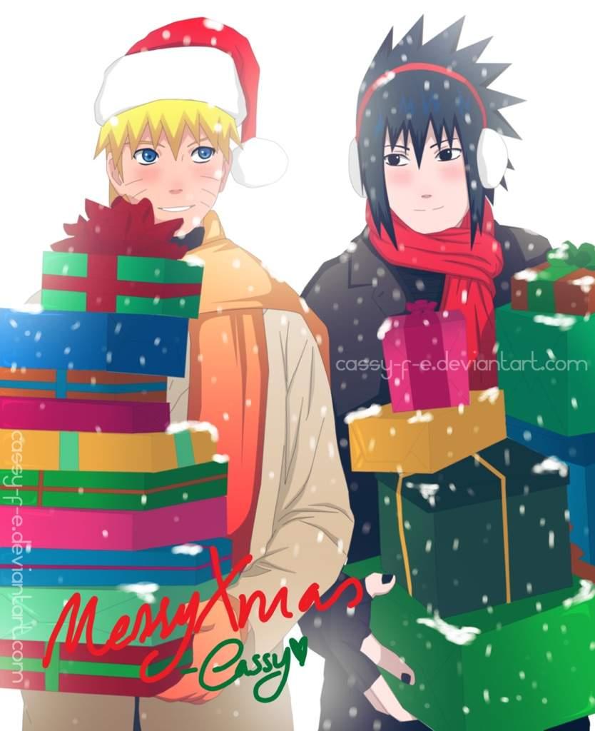 christmas anime naruto - photo #23
