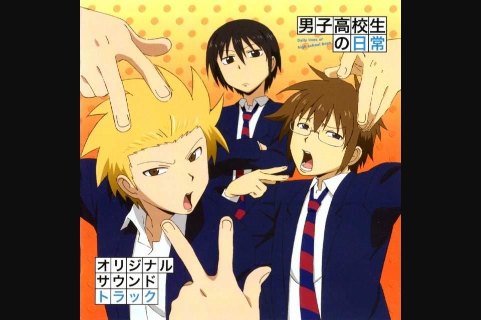 Download Anime Danshi Koukousei No Nichijou Episode 1 12 Complete English Subbed
